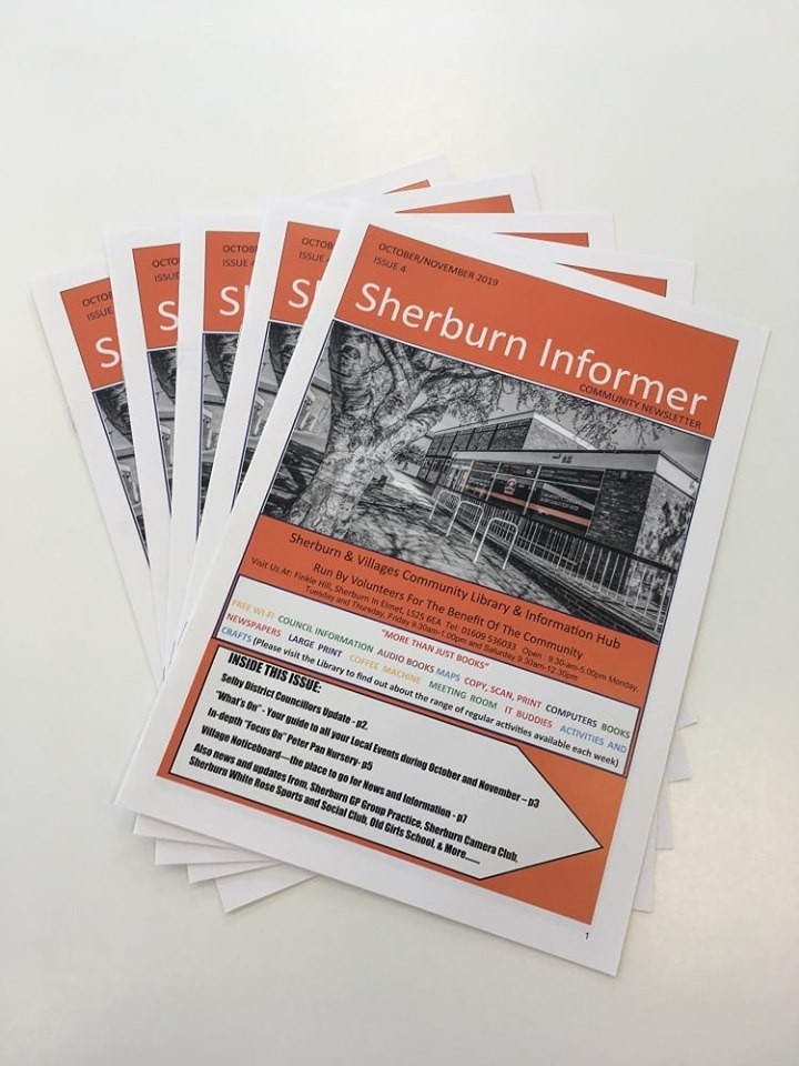 Cover of Sherburn Informer edition 4