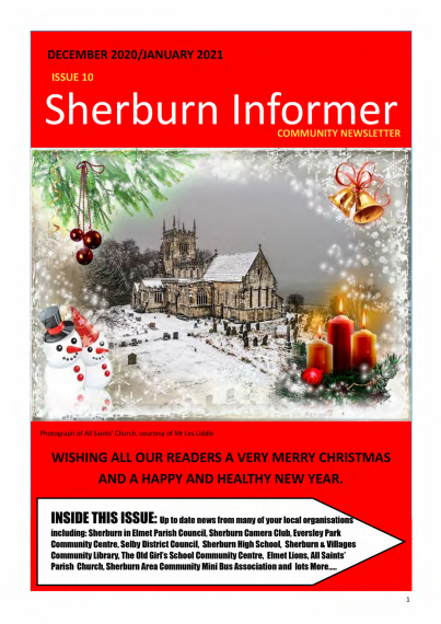 Cover of Sherburn Informer edition 10